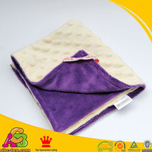 Free Shipping High Quality Minky Baby Blanket Super Soft and Comfortable Security for newborn baby kid toddler(China (Mainland))