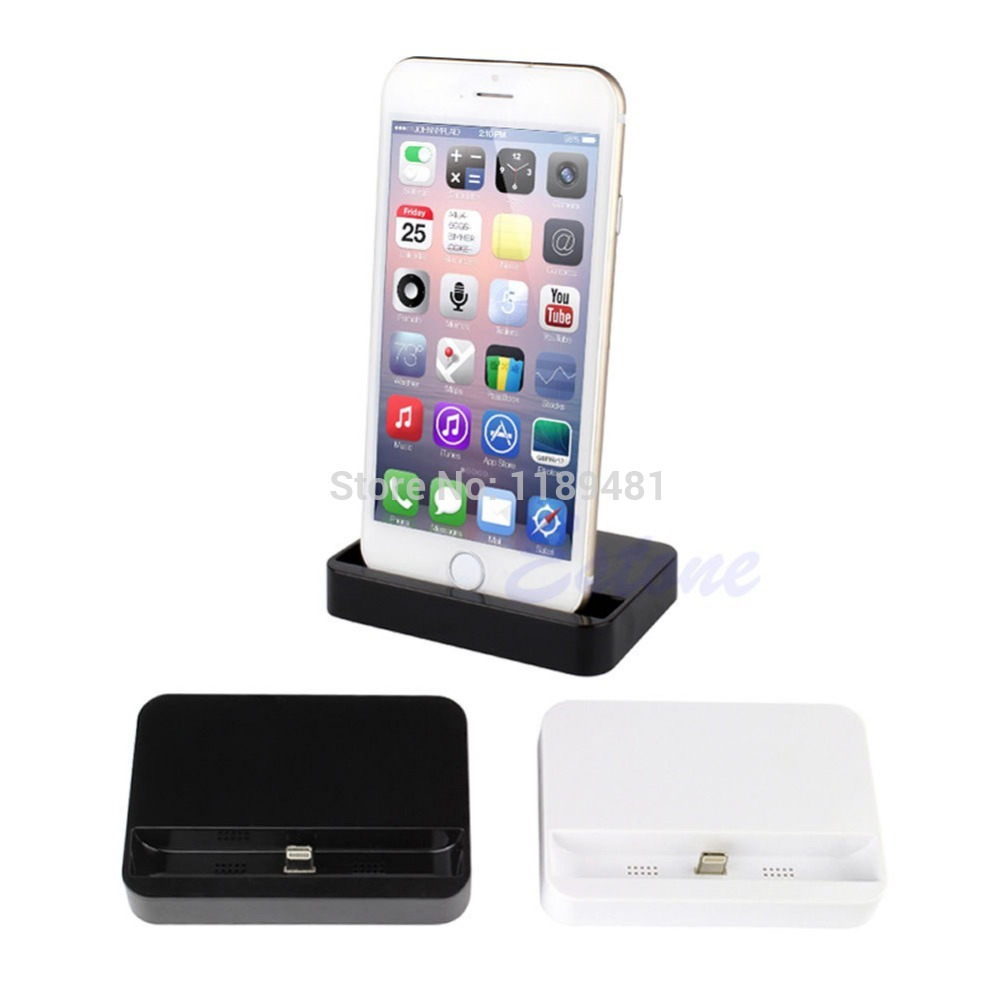 Charger Docking Station Cradle Charging Sync Dock for iPhone 6 & iPhone 6 Plus Free Shipping(China (Mainland))