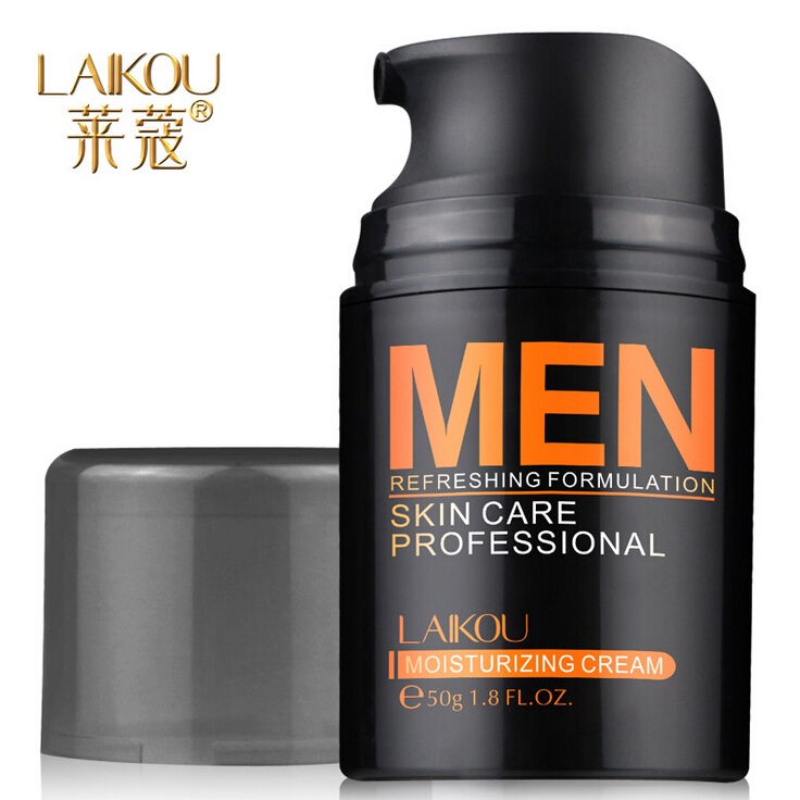 Free Shipping Hot Sale Good Quality Laikou 50g moisturizing cream moist men s skin care products