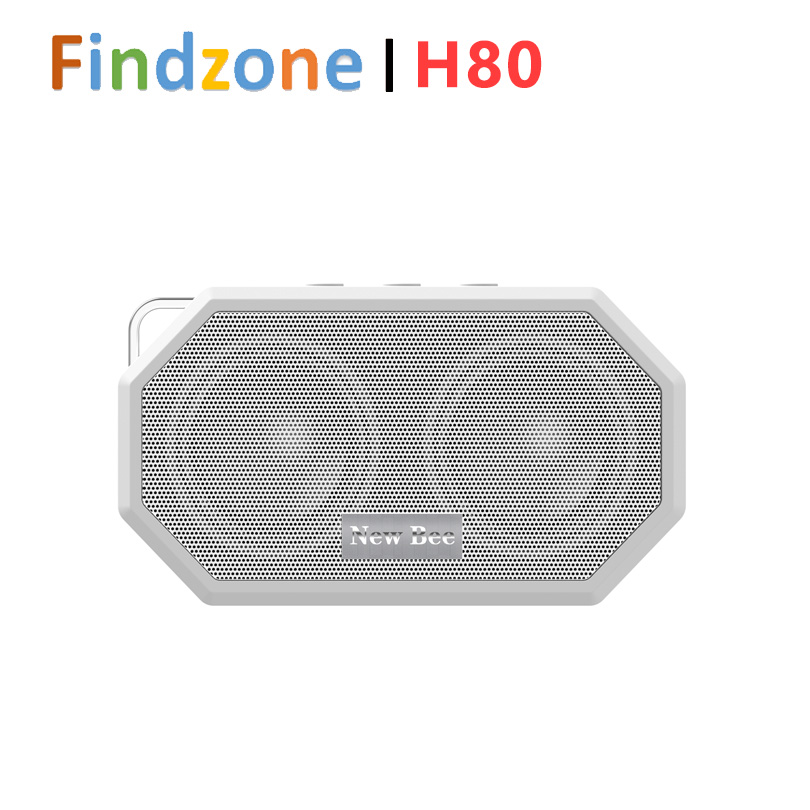 New Bee Portable Pocket Waterproof Shockproof Wireless Bluetooth Speaker with Mic CSR V4.0 Bluetooth for smart phone(China (Mainland))