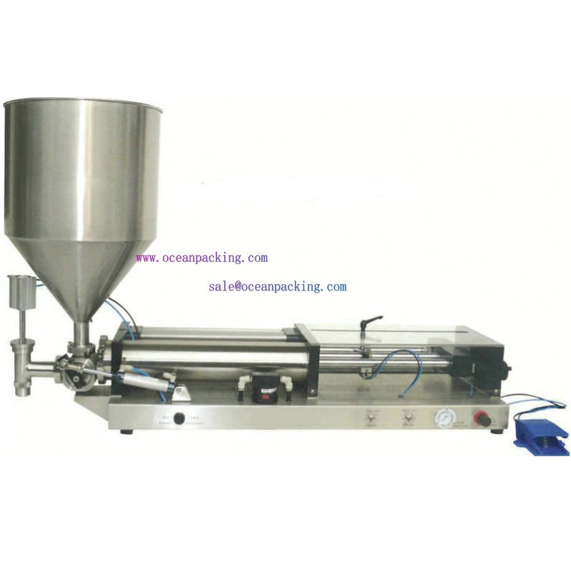 semi automatic filling machine hopper - Guangdong Oceanpacking Co., Ltd store