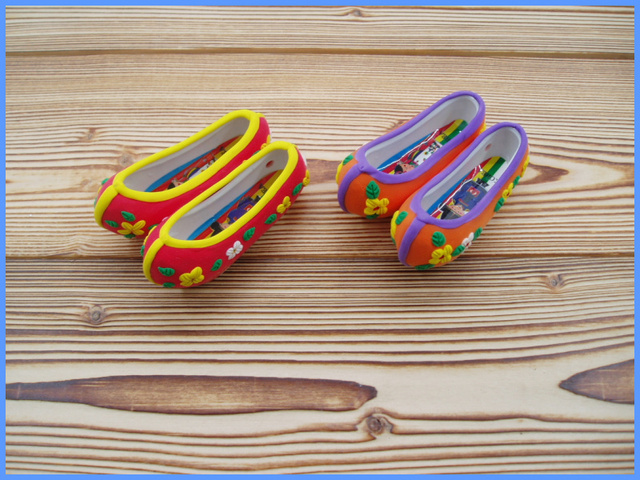 Furniture decoration national trend small decoration mini small plate belt magnet 3