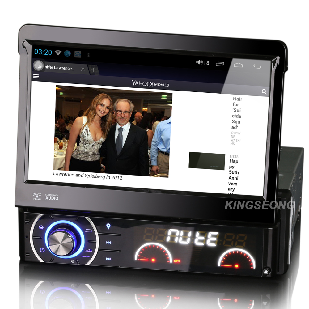 1DIN Pure Android 4.1 Car DVD GPS Navigator HD 7 Iinch Car Radio System Audio stereo WiFi 3G IPOD TV 1GHz CPU 1GB RAM gift Map(China (Mainland))