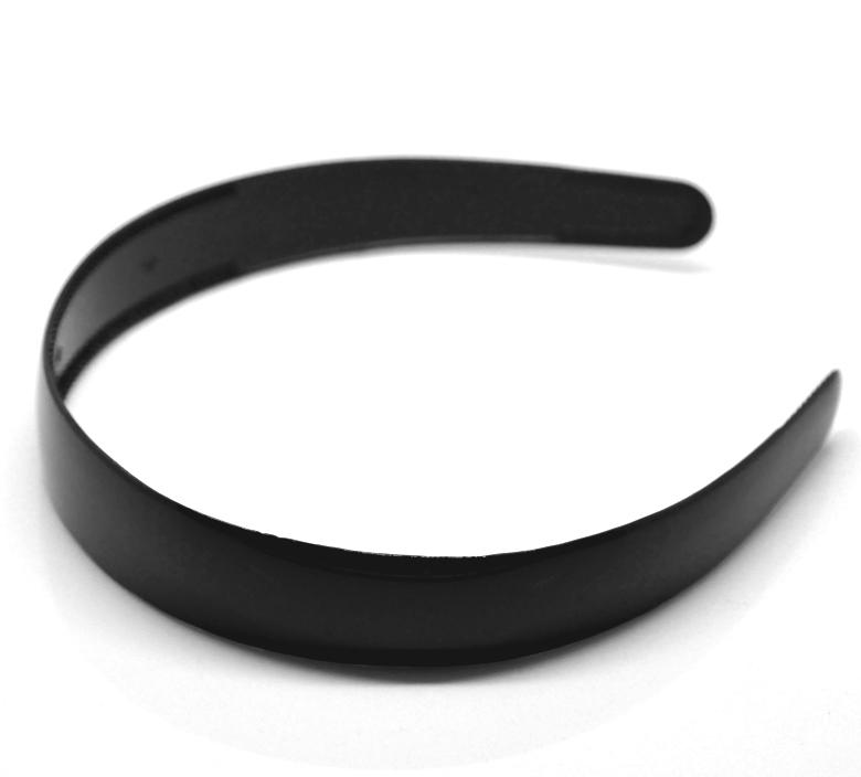 "12PCs Black Plastic Hairband Headband 38cm(15"") long (B18863), yiwu(China (Mainland))"