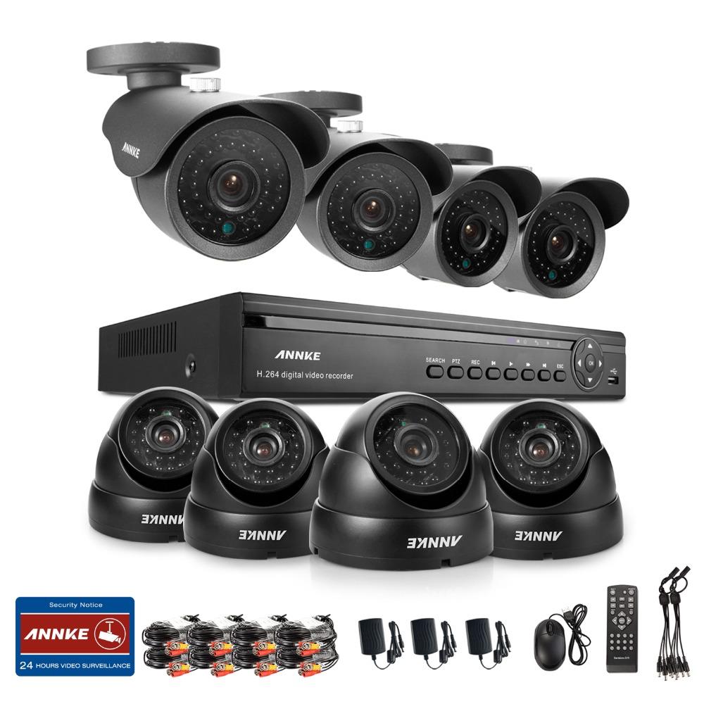 ANNKE 16CH 960H HDMI DVR 900TVL Night Vision Home CCTV Security Camera System<br><br>Aliexpress