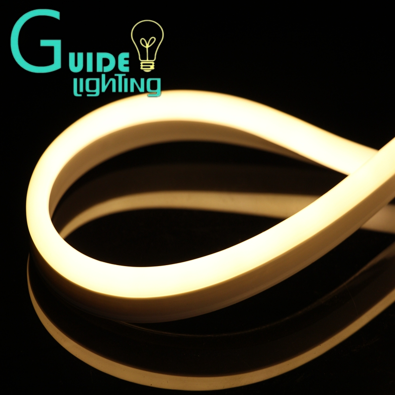 Free shipping Super bright LED neon light 3000K 10meters/lot Flex Warm White Neon Tube Outdoor ROPE LIGHT 15x24mm<br><br>Aliexpress