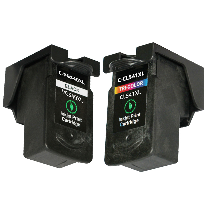 Full ink 2 PCS ink Cartridge for Canon PG-540 PG 540 CL 541 XL for Canon PIXMA MX455 MX515 MX525 MX375 MX395 MX435 MG2150 MG2250<br><br>Aliexpress