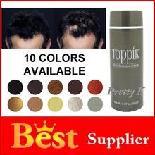 Toppik Black Brown Blond 10 Colors 25g Hot Sale Men or Women Salon Hair Loss Fibers