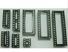 50pcs Assorted DIP IC Sockets 6, 8,14,16,18,20,24,28,32,40(China (Mainland))