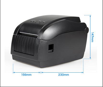 Hot selling ! Free by DHL 1PCS Thernal bar code printer/Two dimensional bar code printer/Label Printer PFL-820P(China (Mainland))