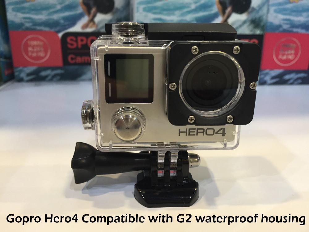 Gopro Hero 4 Style Eken G2 Wifi Action Camera 1080P Full HD Waterproof Car