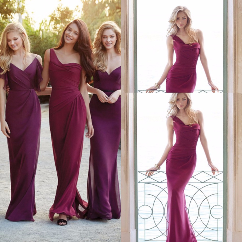 Cheap fashionable bridesmaid dresses