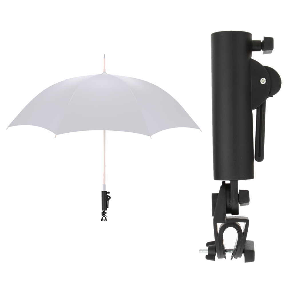 Black Golf Cart Umbrella Holder Golf Club Push Pull Cart Car Trolley Umbrella Holder PP Plastics Umbrella Stands(China (Mainland))