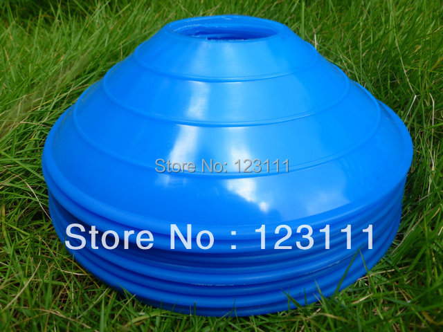 """2"""" PE plastic Soccer Football Agility Disc Training Marker Cones/Sport Field Workoutz Marking cones/Speed Training Equipment 12p(China (Mainland))"""