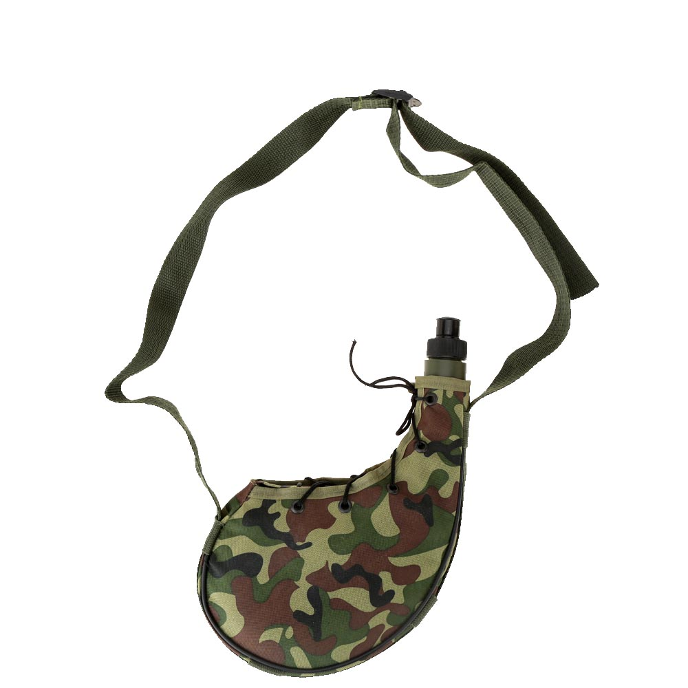 Portable Outdoor Water Bottles Sports Camping Climbing Hiking Camouflage Water Bottle Canteen 800ml(China (Mainland))