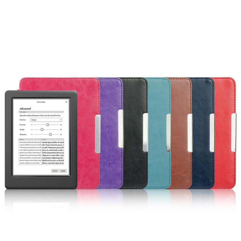 Magnetic Auto Sleep Slim Cover Case Hard Shell For KOBO GLO HD 6.0inch DEC21<br><br>Aliexpress