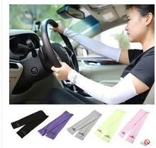 Free Shipping HICOOL Arm Stretch Sleeves Cooling Sun Protection Covers UV Block Guard Sports Outdoor Golf Cycling Sleeve Muff(China (Mainland))