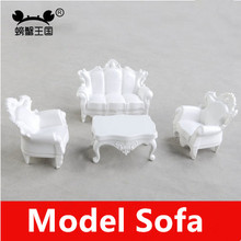DIY hut landscape sand table model buildingmaterial accessories sofa set four specifications indoor decorations(China (Mainland))