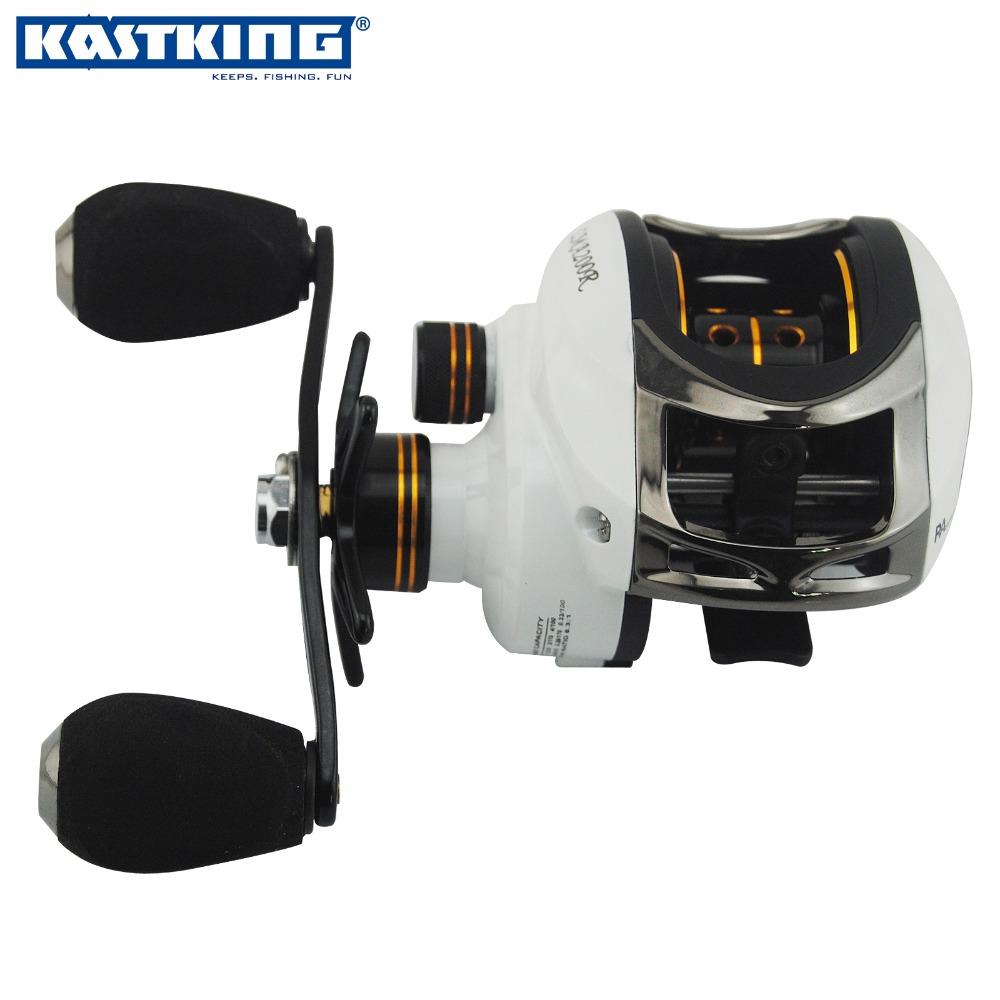 KastKing LMA200 white baitcasting reel 11 ball bearings boat fishing gear Left/Right Hand bait casting fishing reel