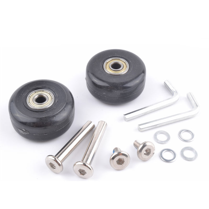 Replacement Luggage Wheels Axles Deluxe luggage wheel Repair 40mm*18mm<br><br>Aliexpress