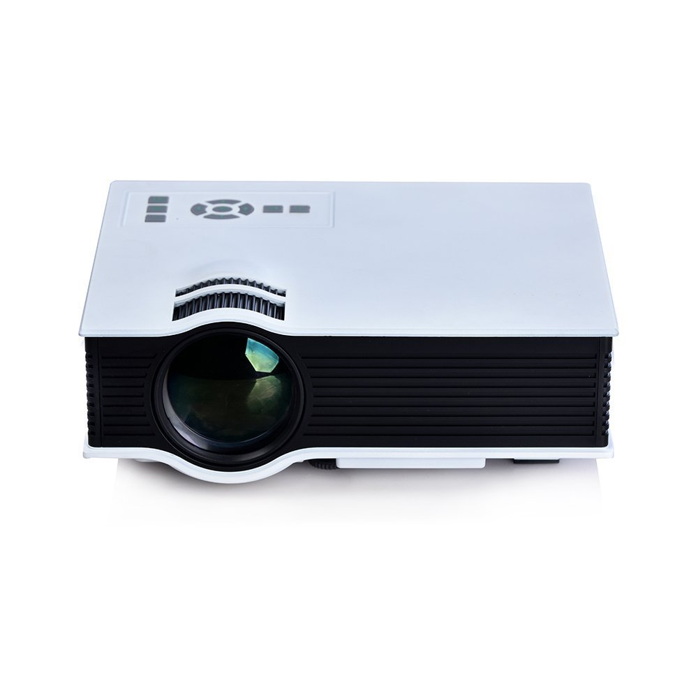 Newest mini pico portable projector uc40 with usb hdmi for for Mini portable pocket projector