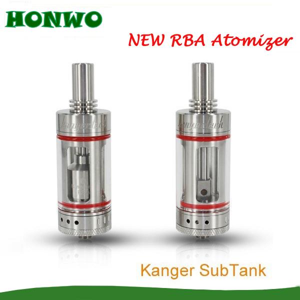 2015est Kanger Subtank 6 Kangertech Subtank kanger subtank RBA atomizer sigelei 150w 150 18650 vape kanger subtank