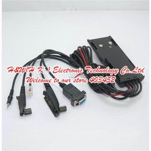 5 in 1 Multi-utility two way radio programming cable for GP328 GP328PLUS GP88S GP300 GM300 -free software