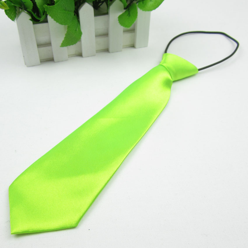 Fashion Children's Accessories Students Boy Necktie for Baby Casual Skinny Polyster Yarn Tie Wedding Party Ultra Narrow Cravat(China (Mainland))