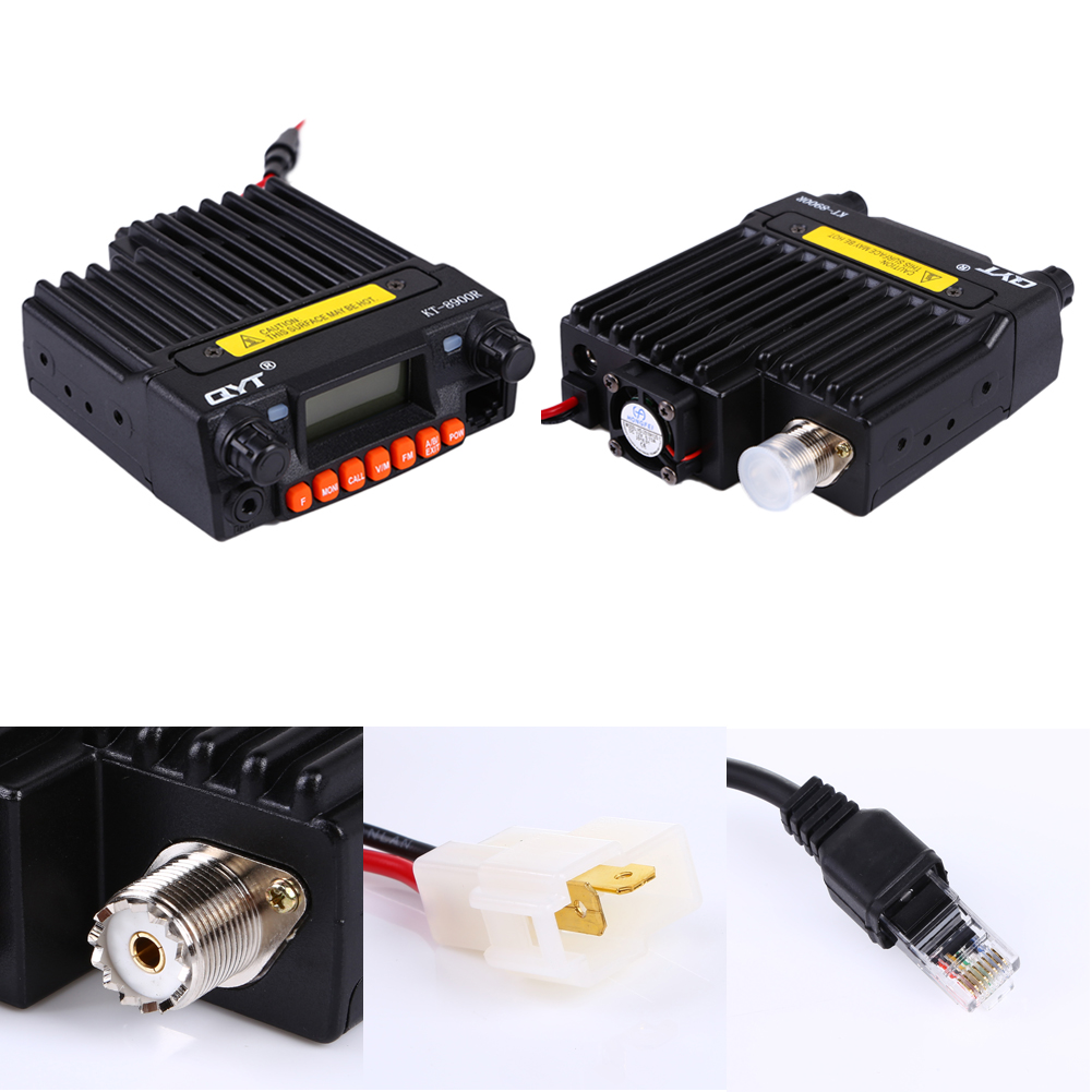 New mini mobile transceiver Car Mobile Radio Transceiver 136-174 240-260 400-480 Mhz With Microphone Mounting Bracket Kits(China (Mainland))
