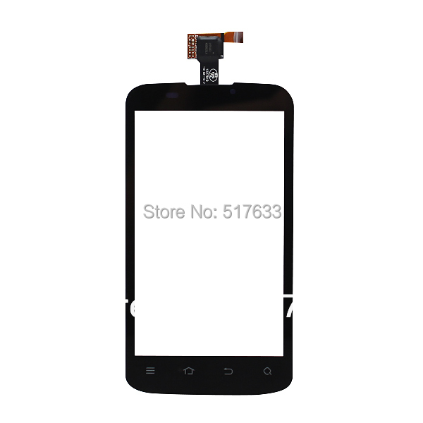 Touch screen digitizer for ZTE Blade 3 V889M touch panel digitizer, free shipping + tracking No.