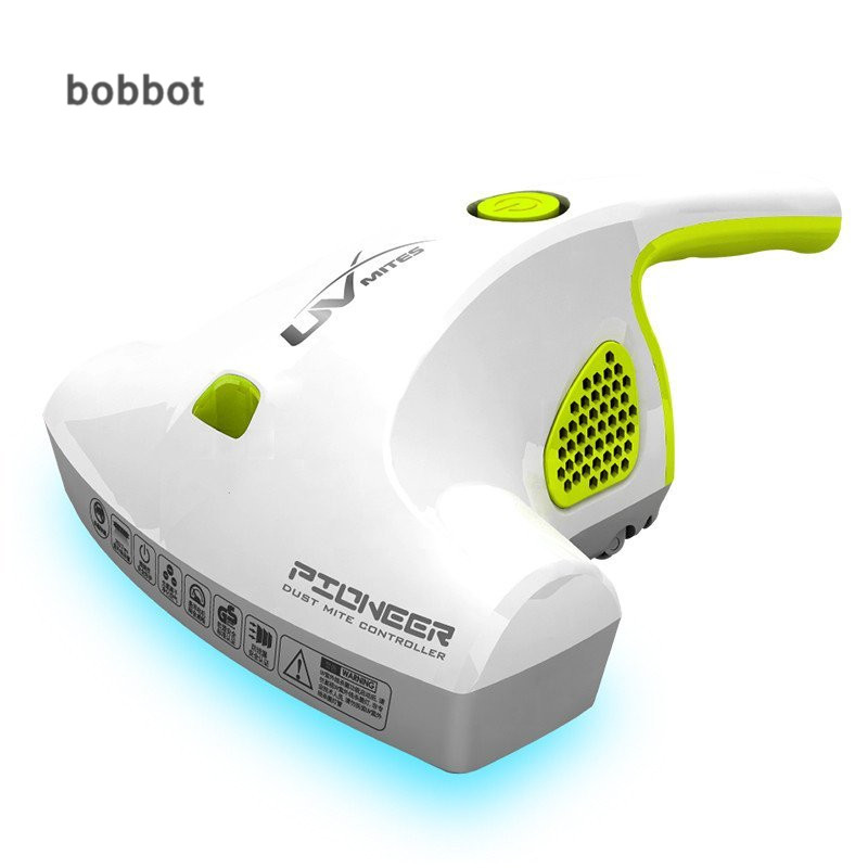 Free Shipping Low Noise Dust Mite Controller UV Germicidal Cleaner For Home Powerful Suction Box Dust Collector BOBBOT CM168(China (Mainland))