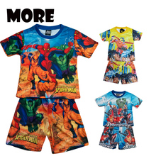 36 set lot Cartoon suits Short sleeve Printed pajamas sets