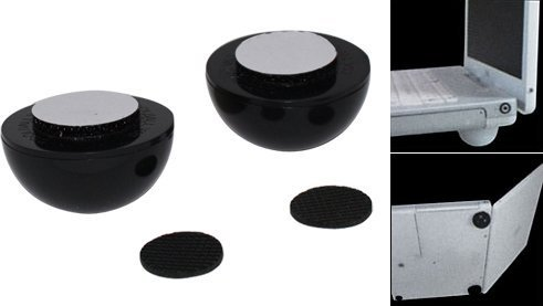 freeshipping  20pcs/lot Cool Ball Skidproof Pad Laptop Notebook Cooler Stand