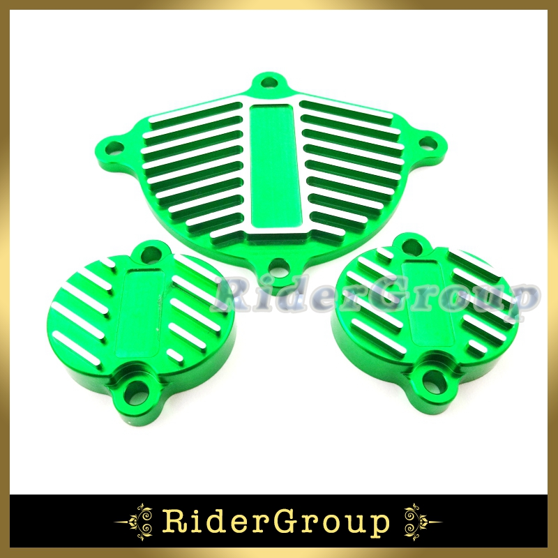 Cam Cover Valve Cap Green Alloy Dress Up Kit For Chinese YX 160cc 1P60FMK 150cc 1P60FMJ Engine Pit Dirt Motor Bike Motorcycle(China (Mainland))