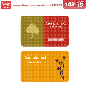 0109-16 business card template for seed paper business cards landscaping business cards business cards design your own<br><br>Aliexpress