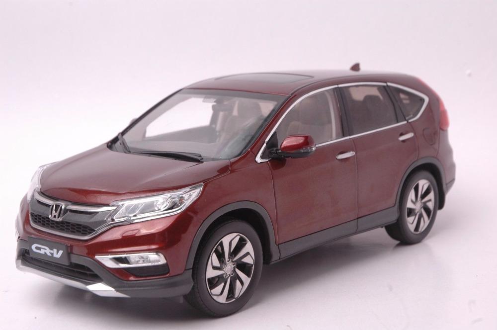 Brown 1:18 Honda CR-V CRV SUV 2015 Collectable Diecast Model Car Kits Building Vehicle Wholesale(China (Mainland))