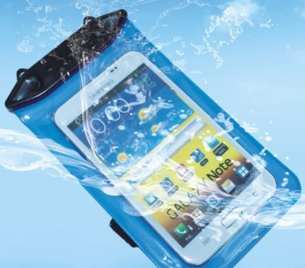 Mobile Waterproof Bag Samsung 7100 note2 i9220 9300 5.3 inch waterproof mobile phone sets(China (Mainland))