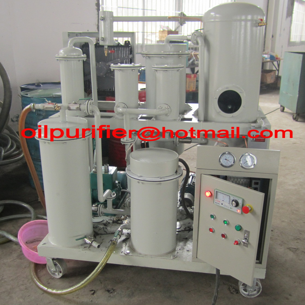 Hydraulic Oil Purifier Machine,Hydraulic Oil Recycling Plant,Oil Filter Machine(China (Mainland))