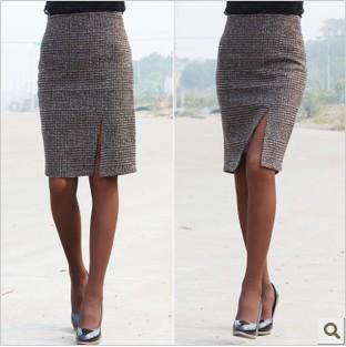 Гаджет  Free shipping 2013 new arrival  diagonal-vent style sexy OL knee-length  fashion Skirt high quality skirt  -L004 None Одежда и аксессуары