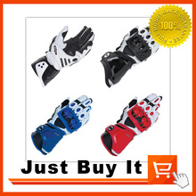 Good quality 4 Colors The New GP PRO Racing Motorcycle Gloves Protective Gear Real Leather Motorbike Protection Moto Guantes(China (Mainland))