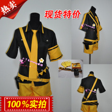 Vocaloid 2 Hatsune Miku Cosplay Costume Free shipping