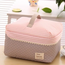 Retail Zipper Portable Multifunctional Travel Handbag Storage Bag Travel Cosmetic Makeup Wash Bag Toiletry Kits 25*20*15 CM