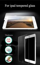 9H Hardness Screen Protector For Ipad 2 3 4 Air 1 2 Mini 1 2 3 0.3mm Tempered Glass Screen Protector For Apple Ipad+Clean Tools