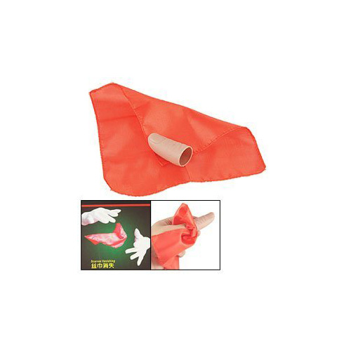 Super sell!! Magician Magic Tricks Red SCarves DisappEar In Finger Set(China (Mainland))