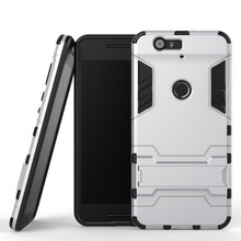 For Huawei Nexus 6P Cool 2 In 1 PC+TPU Hard Stand Holder Case For Huawei Nexus 6P Covers Cases Mobil Phone Accessories