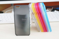 0.3mm Ultra Thin Frosted Clear Cases for Apple iPhone 6 Soft Back PC Plastic Matte Case Skin Cover With Factory Price 10pcs/lot