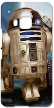 Retail Star Wars R2D2 Robot Plastic Hard Cover For HTC one X M7 M8 Mini M9 Plus M10 E8 A9 Desire 510 eye M910x Cell Phone Case