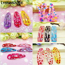 Buy LYSUMDUOE 100pcs BB Hair Clip Fashion Hair Accessories Kids Hairpins Bow Princess Flower Accessory Barrette Cute Hairgrips Girl for $9.08 in AliExpress store