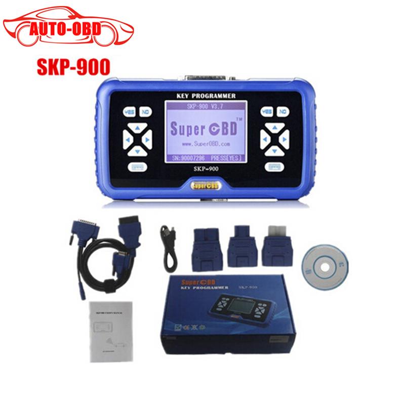 SuperOBD SKP900 Hand-held OBD2 Key Programmer Maker for Support 53 Brands of Car 2014 high quality SKP 900 auto key programmer<br><br>Aliexpress