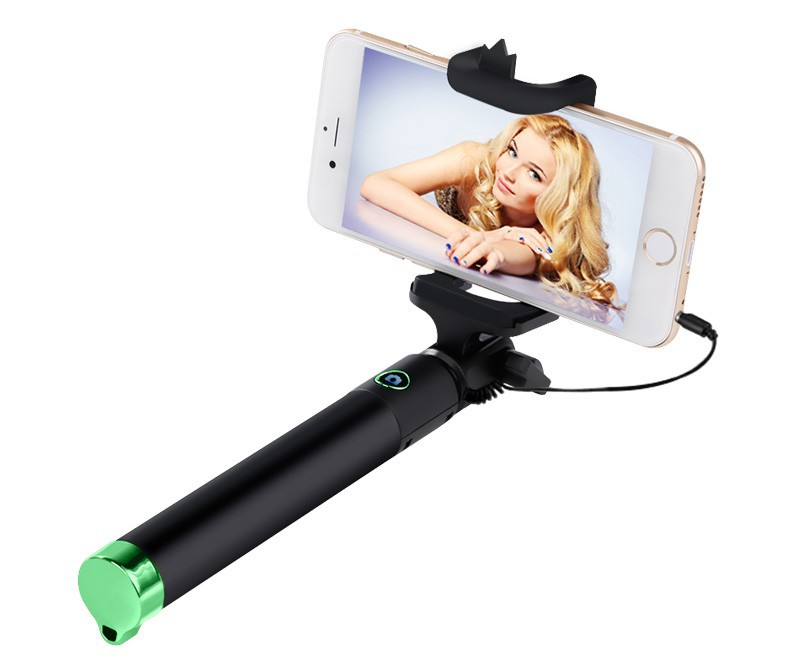 image for 2015 New Mini Extendable Handheld Monopod Selfie Stick For IPhone Sams